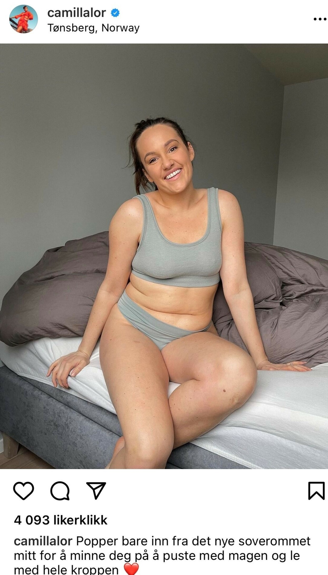 Derfor snur Camilla Janteloven på hodet - i bikini!
