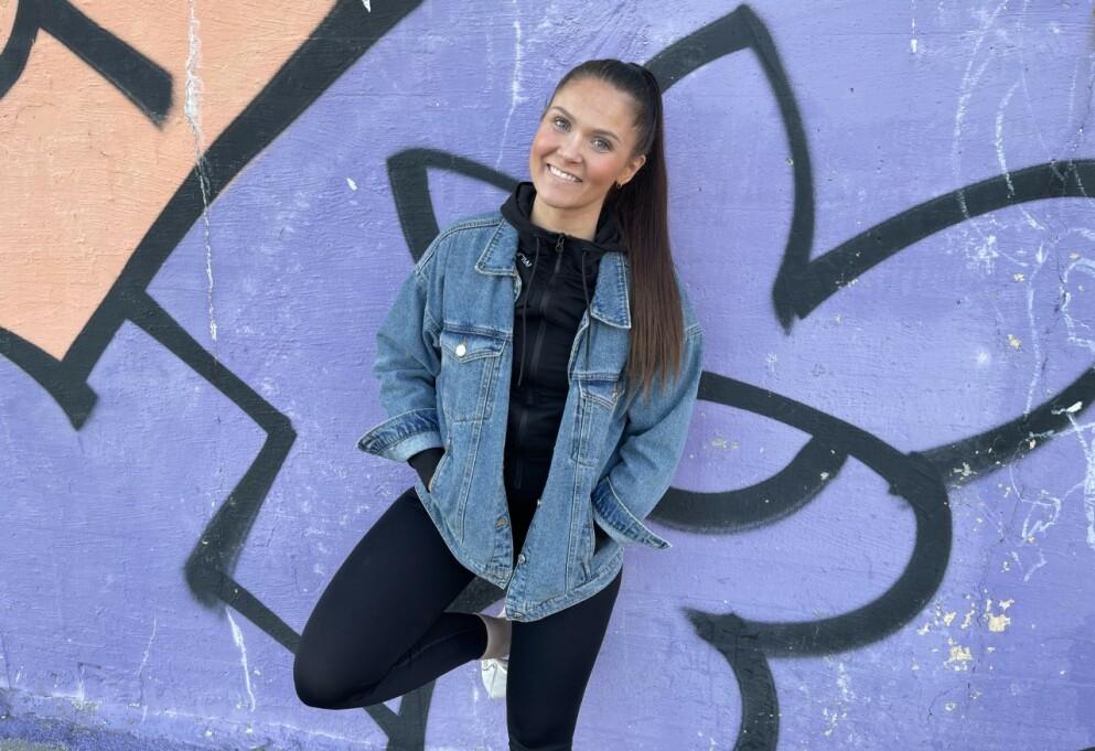 FRISK FRA PTSD: Hendelser i barndommen gjorde at Ina-Marie Mikalsen fikk posttraumatisk stresslidelse, en tilstand som rammer cirka 80.000 mennesker i Norge. FOTO: Privat