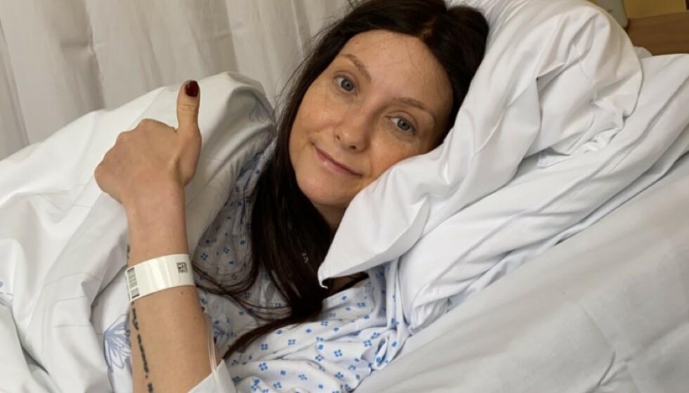 SJELDEN KREFTTYPE: Silje har en kreftform som ikke lar seg behandle i Norge. Nå har hun søkt hjelp i utlandet. Foto: Privat