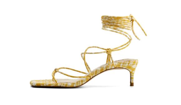 Sandaler med snøring (kr 600, Mango).
