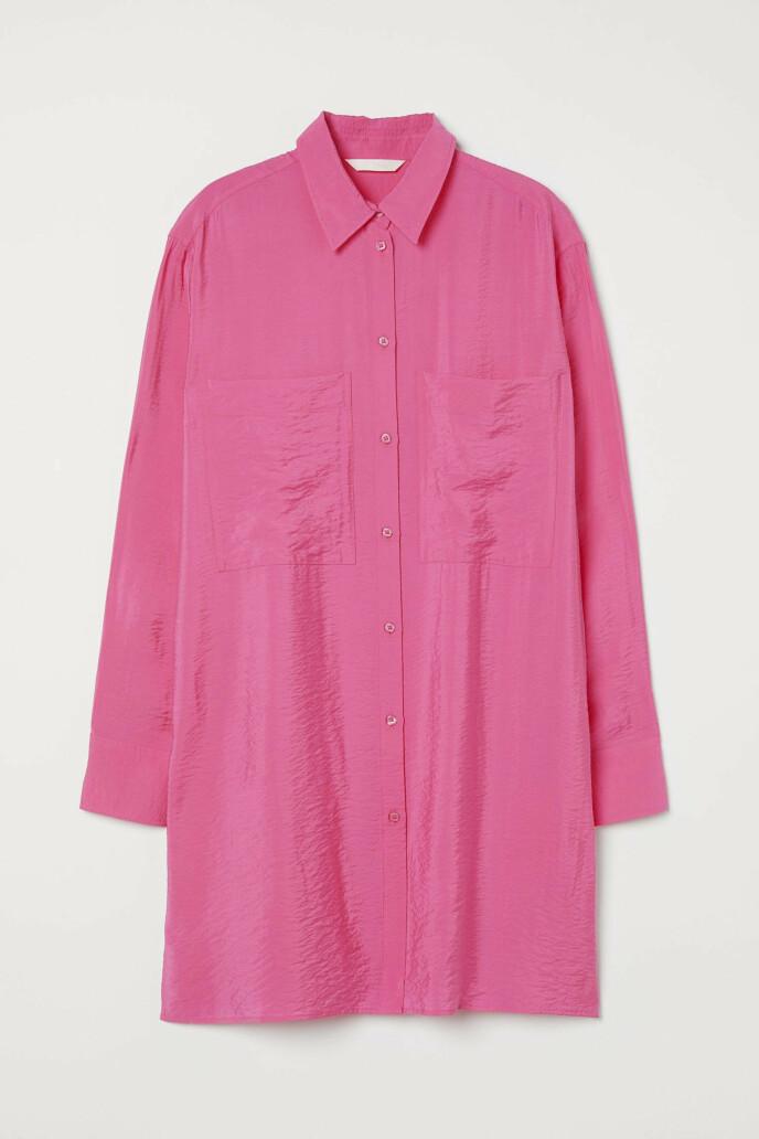 Lang skjorte (kr 250, H&M).