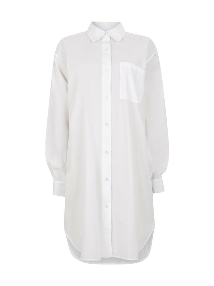 Lang skjorte (kr 300, Bik Bok).