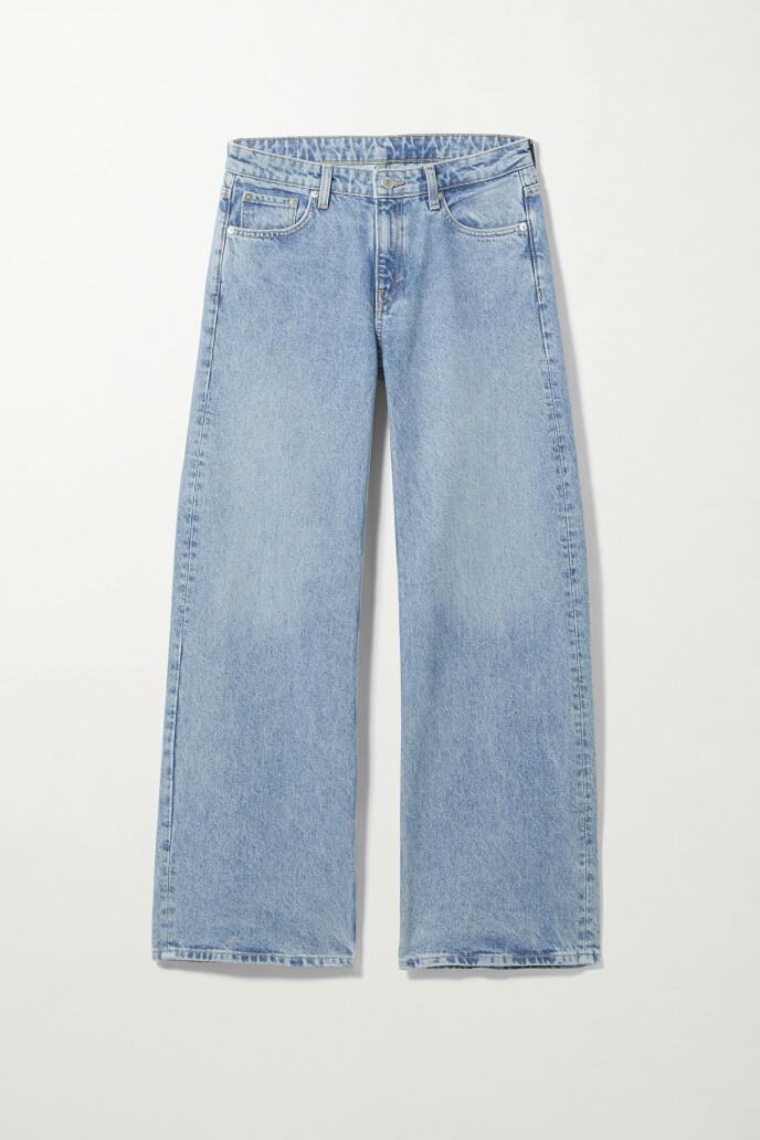 Vide jeans (kr 600, Weekday).