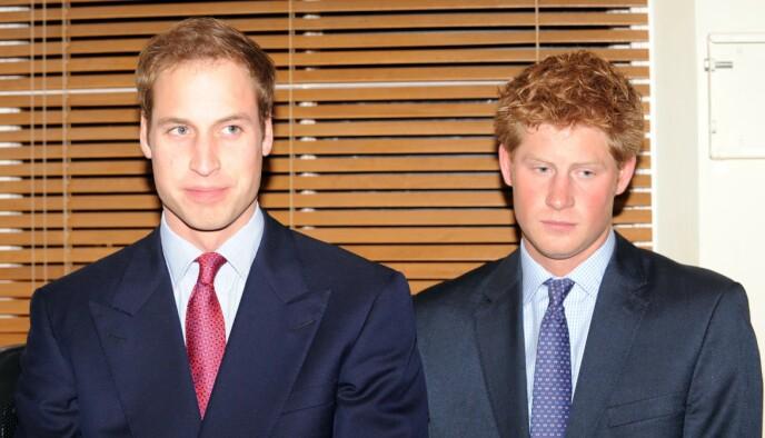 VANSKELIG: Prins Harry forteller i dokumentaren at han syntes det var utrolig ukomfortabelt å måtte representere kongehuset i slutten av 20-årene og begynnelsen av 30-årene. Her fra et arrangement med broren prins William i 2009. FOTO: NTB
