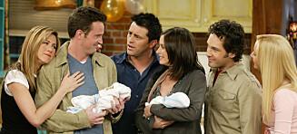 Én graviditet ble holdt skjult, den andre ble skrevet inn i serien