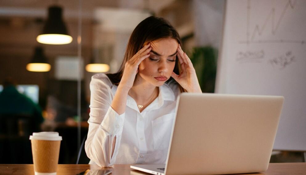 SMITTSOMT STRESS: - Vi fanger opp at folk rundt oss ser stresset ut, og blir selv stresset av det, sier professor. FOTO: NTB