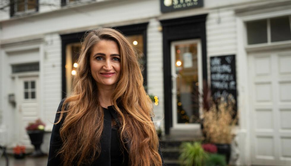 EKSPERTEN: Siv Oldervik, frisør og eier av Stas hår og bryn i Trondheim. FOTO: Privat