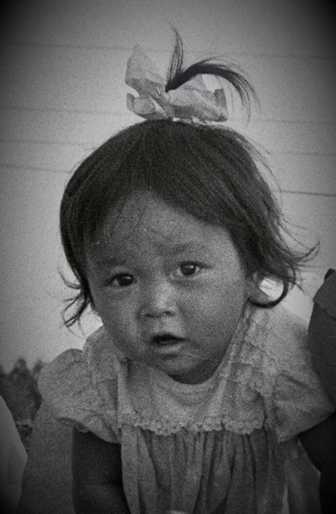 SOM BARN: Eli Therese var en skjønn liten jente. FOTO: Privat