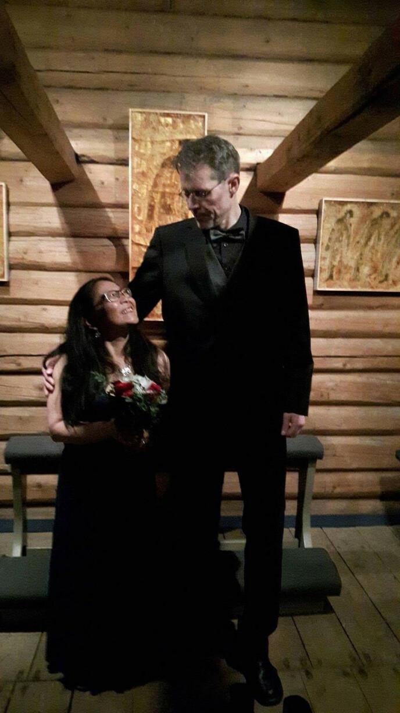 Eli Therese fant tilbake til ektemannen etter bruddet. FOTO: Privat