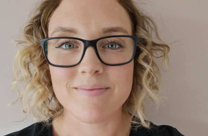 POSITIVT: Ammeveileder og sykepleier Monica Kristoffersen Skog synes det er flott at kjendiser som Funkygine viser at de ammer barna sine lenger enn det mange anser som normen. FOTO: Privat