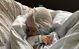 Nyfødte Emma ble forgiftet av D-vitaminer