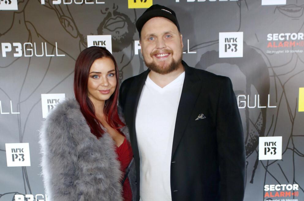 STAYSMAN BRUDD: Den populære artisten Stian Staysman og kona Tina Svestad går hvert til sitt etter åtte års forhold. Her fra P3Gull i 2017. FOTO: Mariam Butt / NTB