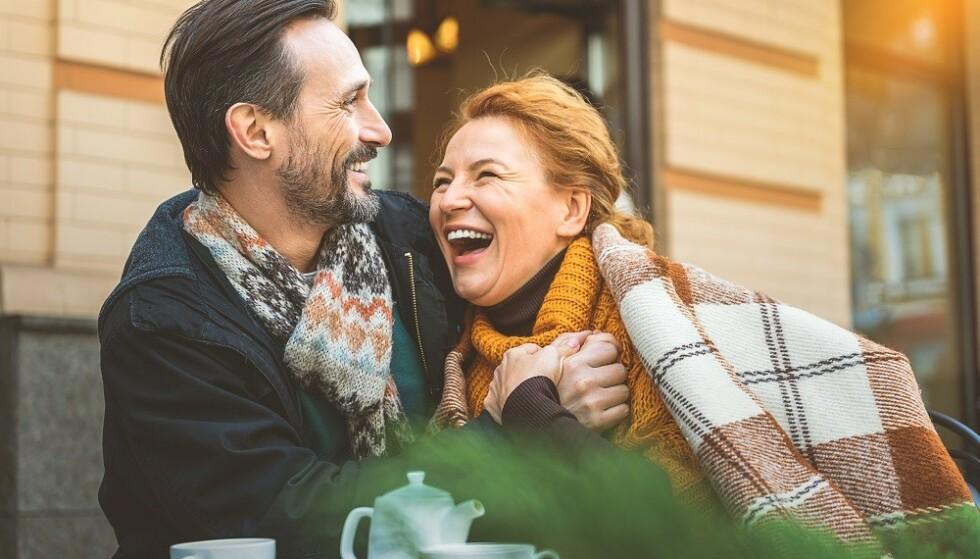 MINDRE STRESSET: - Kanskje er modne kvinner litt mindre stresset. Er det noe som overstyrer sexhormoner så er det stresshormoner, sier sexolog. FOTO: NTB