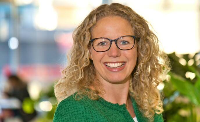 SENSITIVT TEMA: Det er ifølge Linda Granlund i Helsedirektoratet viktig at helsestasjon- og skolehelsetjenesten formidler budskap om overvekt på en respektfull måte. FOTO: Finn Oluf Nyquist/Helsedirektoratet