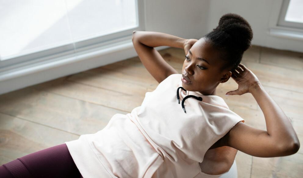 SIT UPS: Jeg får ofte spørsmål om hvilke mageøvelser som er de beste, og om situ ps er en øvelse folk skal inkludere eller ekskludere. Her er min mening. FOTO: NTB