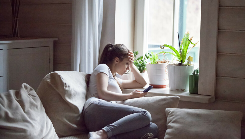 IKKE GREIT: Flertallet mener at ghosting ikke er en passende måte å avslutte et forhold på, ifølge studier. FOTO: NTB