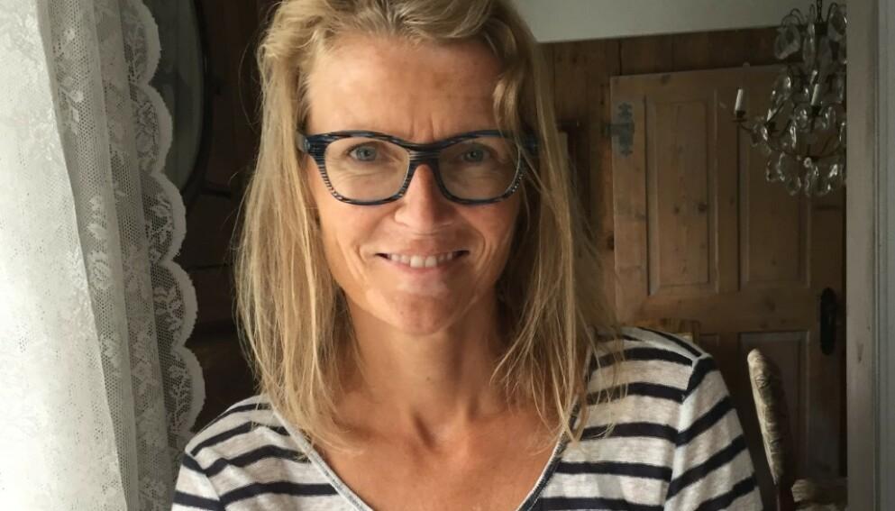 KRAFTIGE MENSBLØDNINGER: Frøydis har alltid visst at hun blødde mer enn gjennomsnittet under menstruasjonen, men trodde at det bare var en naturlig del av det å være kvinne. FOTO: Privat