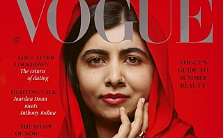 Tidenes yngste fredsprisvinner på forsiden av Vogue