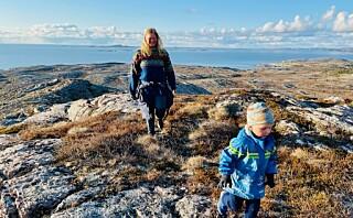 Mons (4) og foreldrene går fra Oslo til Nordkapp
