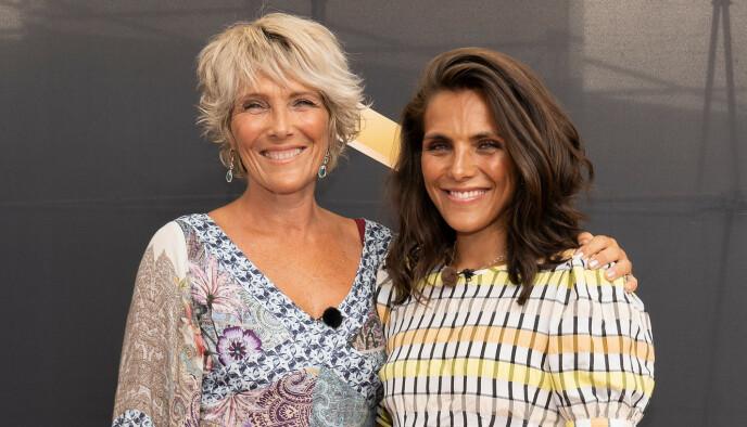 MOR OG DATTER: Treningsprofil Jørgine Vasstrand og moren Trude Vasstrand er begge blitt kjent gjennom TV2-programmet Funkyfam. FOTO: Espen Solli // TV 2