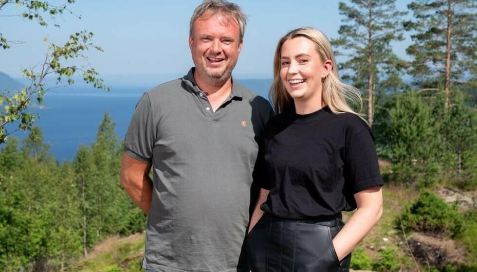 DYKTIGE: Far og datter-duoen Kurt og Veronica har vist at de er særdeles gode på hytteoppussing. FOTO: Espen Solli // TV2
