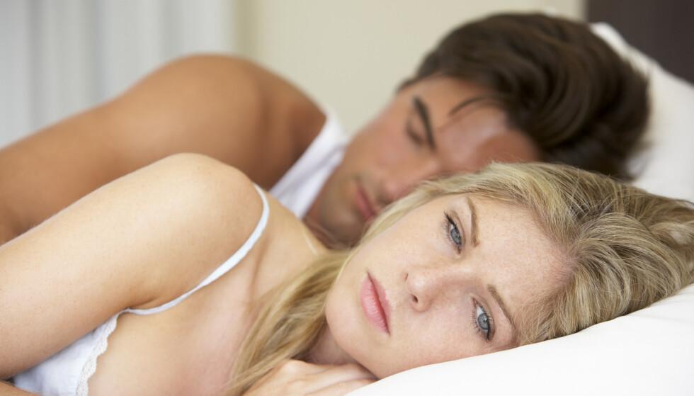BEKYMRET: En kvinne er fortvilet over at mannen hennes ikke vil ha sex med henne fordi han er så redd for å gjøre henne gravid. Sexolog Laila Kathleen mener de begge har et kommunikasjonsproblem, og har gode råd. Foto. NTB