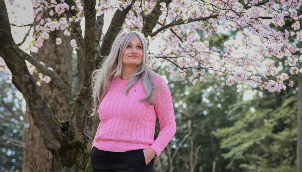 ENSOMHET: Da Kristine Røsten Clarholm ble syk, savnet hun hjelp til praktiske ting i hverdagen. Foto: Ida Bergersen
