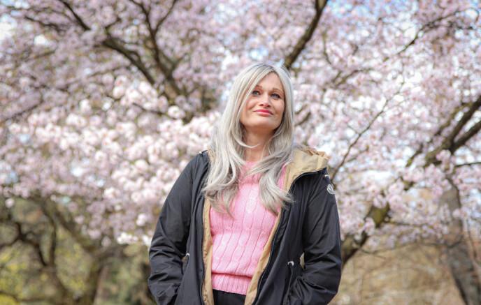 GOD PROGNOSE: Selv om Kristines prognose er god, er hun redd for at kreften skal komme tilbake. Foto: Ida Bergersen