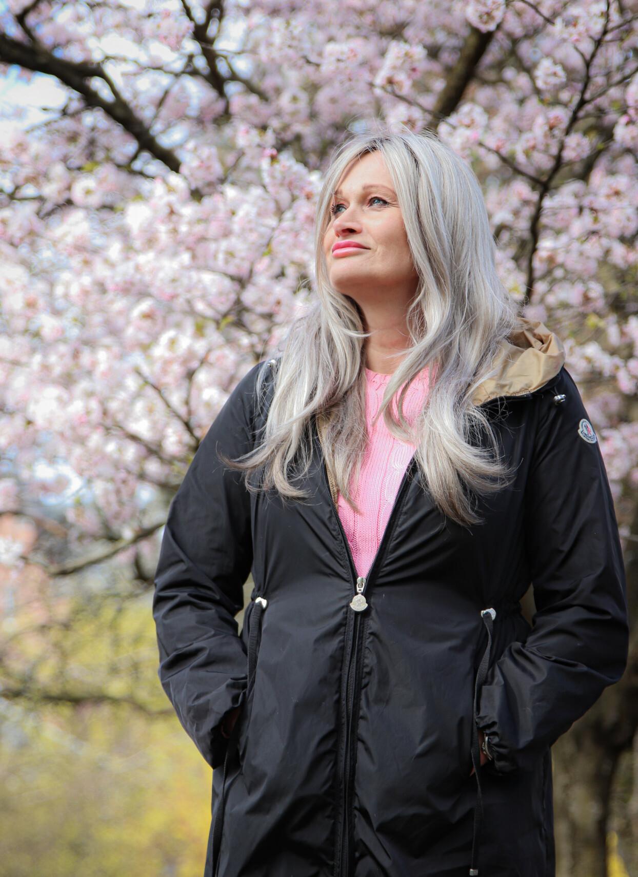 BLE TATT PÅ ALVOR: Kristine trodde at kulen i brystet ikke var noe alvorlig, men legen tok det på alvor. Foto: Ida Bergersen