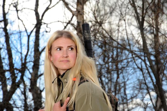 UT: Jakt og skogsturer er blitt terapi for Hege. FOTO: Marianne Otterdahl-Jensen