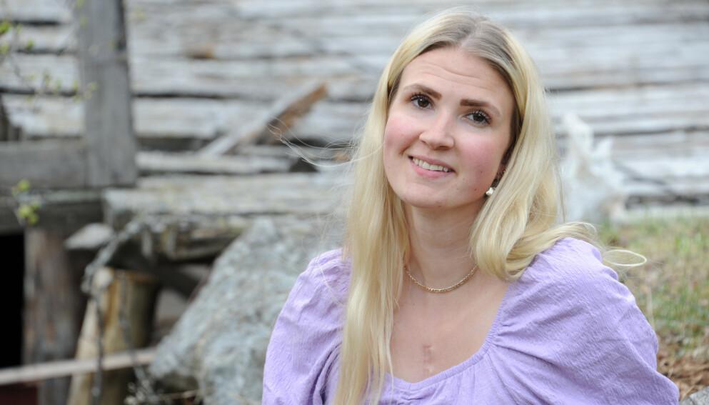 SJELDEN SYKDOM: Hege har Marfans syndrom - en bindevevssykdom som blant annet gjør at du blir lang og tynn. FOTO: Marianne Otterdahl-Jensen