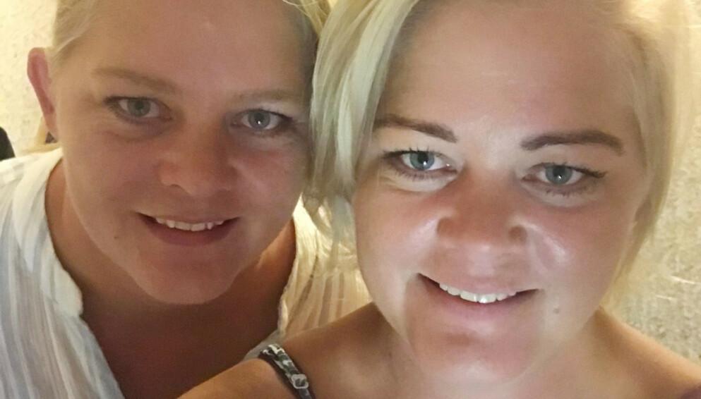 SOMMERHYTTA: Tvillingene Trine og Trude Rishaug Lium har fått flere frierbrev etter deltakelsen i det populære TV-programmet, men har ingen hast med å finne seg en bedre halvdel. FOTO: Privat