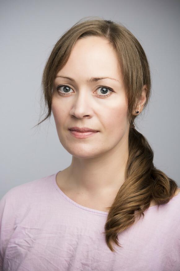 HAR MERKET TRENDEN: Kaja Ringnes Efskind Kommunikasjonsrådgiver i Dyrevernalliansen sier de ser mer klær til kjæledyr. FOTO: IHNE PEDERSEN