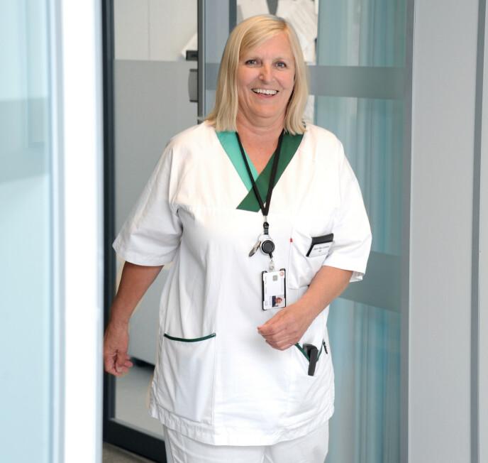 LEGEVAKT: Dagrunn ønsket å bli spesialist i allmennmedisin, og begynte derfor på legevakten i Bergen - der ble hun værende. FOTO: Marianne Otterdahl-Jensen