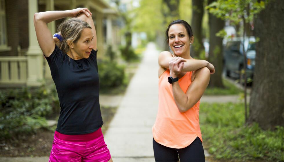 TRENING: Det er fullt mulig å trene effektivt på en halvtime, bare du følger ett hovedprinsipp. Foto: NTB