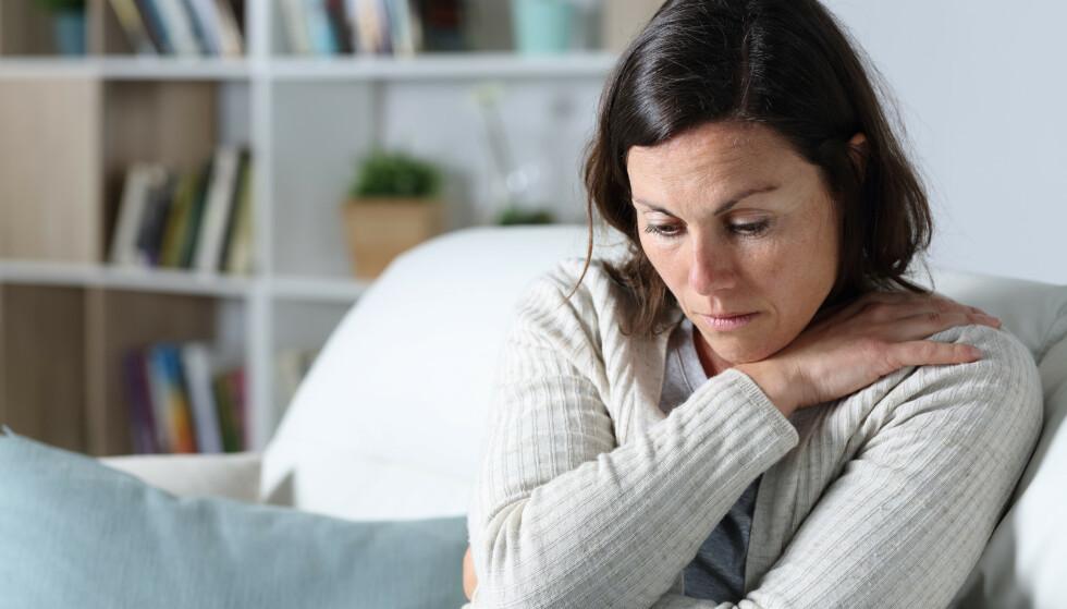 VONDT: Å forlate et ekteskap eller et langvarig forhold vil nesten alltid være et vanskelig valg og en prosess som tar lang tid. FOTO: NTB