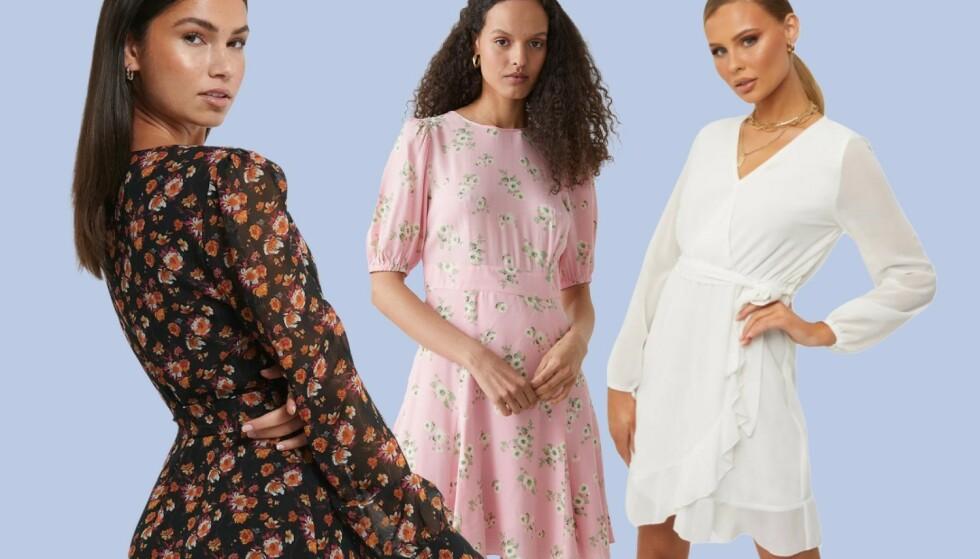 12 fine sommerkjoler på salg