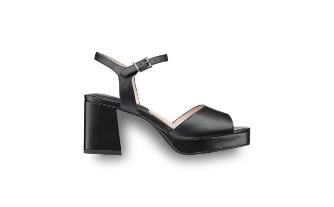 Hælen som gjør skoene både stødige og kule