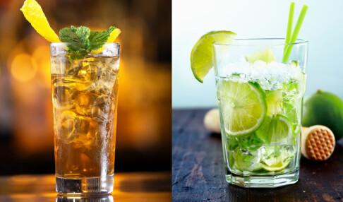 Enorm kaloriforskjell på alkohol: 700 kalorier skiller disse to drinkene