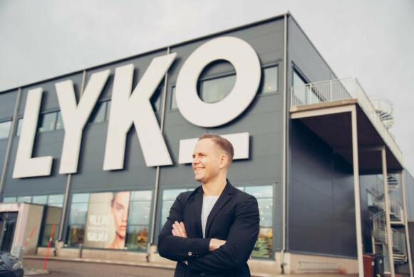 ÅPNER FLAGGSKIPBUTIKK: Richard Lyko åpner merkets første flaggskipbutikk utenfor hjemlandet Sverige. FOTO: PRIVAT