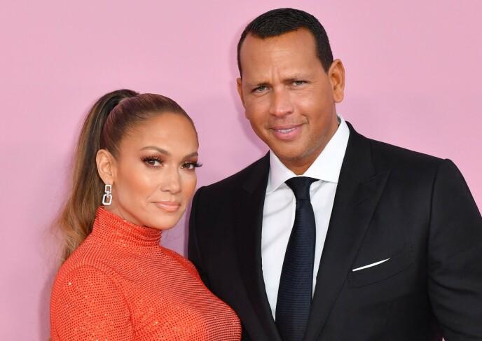 BRUDD: Tidligere i år ble det slutt mellom Jennifer Lopez og Alex Rodriguez etter fire år. FOTO: NTB