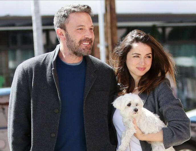 BRUDD: Ben Affleck og Ana de Armas var sammen i ett år, før forholdet tok slutt i januar 2021. FOTO: NTB