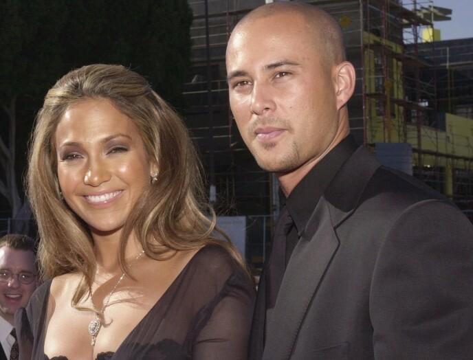 BRUDD: Jennifer Lopez og Cris Judd var gift fra 2001 til 2003. Hun innledet en relasjon med Ben Affleck mens hun fremdeles var gift med Judd. FOTO: NTB