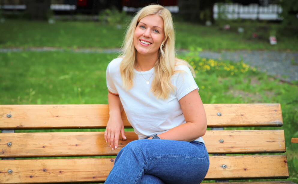 MATINTOLERANSE: KK-journalist Ida Bergersen har tatt to ulike matintoleranse-tester. Foto: Thea Bergersen