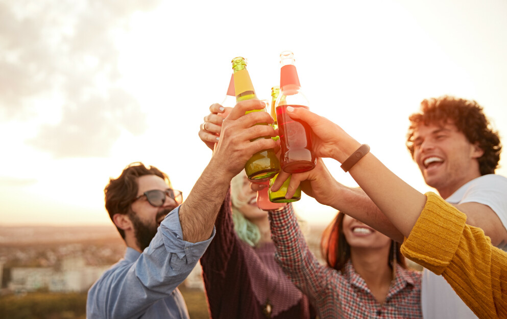 BESTE ØL OG VIN: Her kan du se hvilke alkoholholdige drikkevarer som havnet på salgstoppen i året som gikk. FOTO: NTB