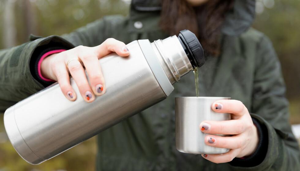 VASK MED EN GANG: - Vask termosen direkte etter bruk, ikke la den bli stående skitten, spesielt ikke hvis det har blitt oppbevart melk på den, sier eksperten. FOTO: NTB
