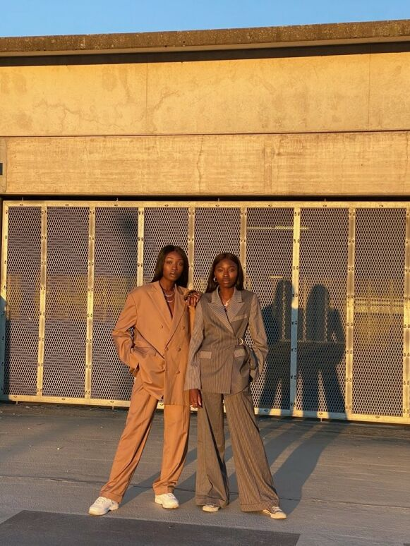 DUO: Søstrene Aissatou og Haddy Ceesay står bak smykkemerket Diawéne. FOTO: PRIVAT