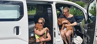 Stine og Charlotte skal bo i varebil i sommer