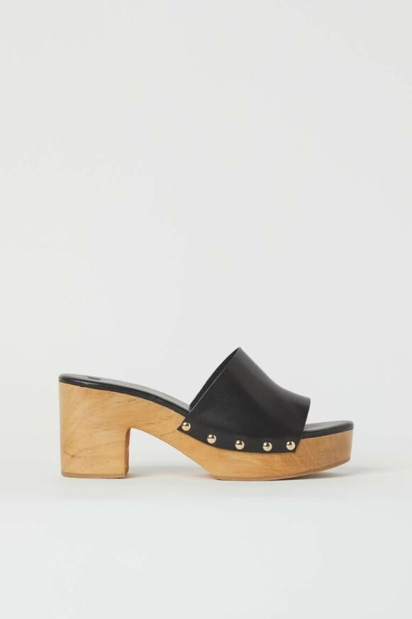 Sandal med trehæl fra H&M kr 599