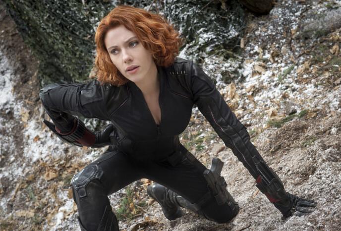 BLACK WIDOW: Johansson har spilt rollen som Black Widow i over et tiår og har en lang rekke Marvel-filmer som «Iron Man 2», «Avengers»-serien og «Captain Marvel» på CV-en.FOTO: NTB